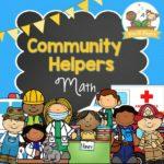Printable Community Helper Math Activities for Preschool and Kindergarten Kids