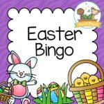 Printable Easter Bingo Game for Preschool or Kindergarten Kids