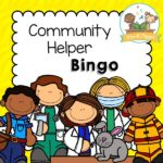 Printable Community Helper Bingo Game for PReschool and Kindergarten
