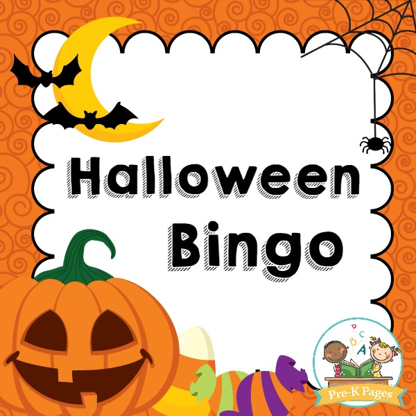 photograph relating to Free Printable Halloween Bingo named Halloween Bingo - Pre-K Web pages