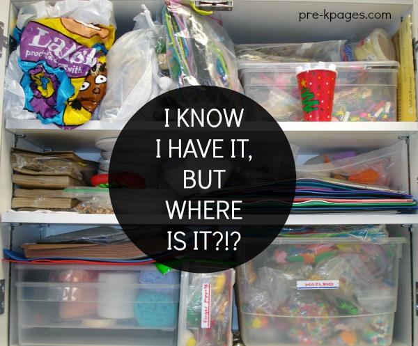 How to organize a preschool classroom