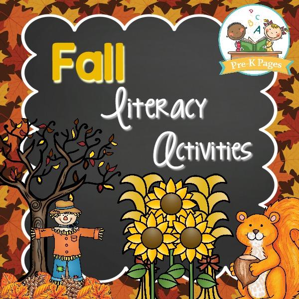 Fall Literacy Activities for Preschool