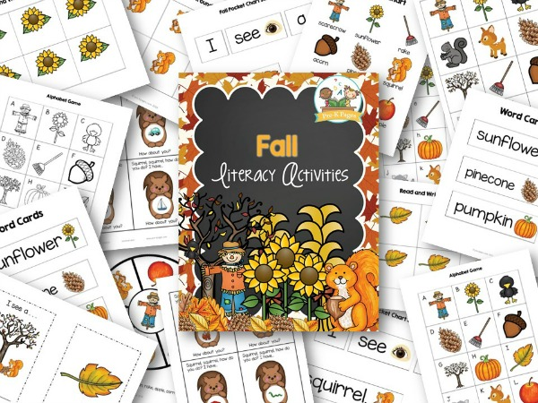 Fall Literacy Activities for Small Group
