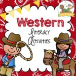 Printable Western Theme Literacy Activities for Preschool