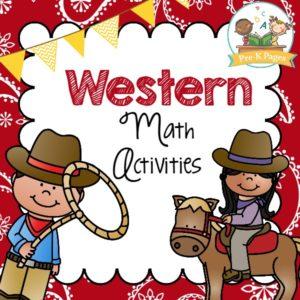 Western Math Activities