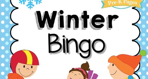 picture relating to Winter Bingo Cards Free Printable named Wintertime Bingo Sport - Pre-K Web pages