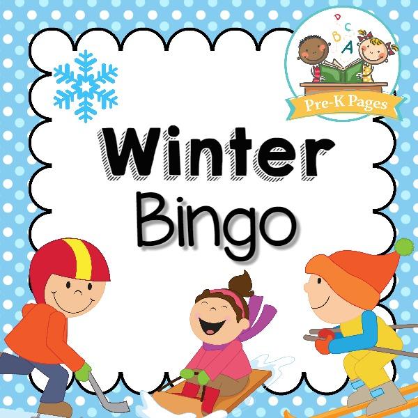 Printable Winter Bingo Game
