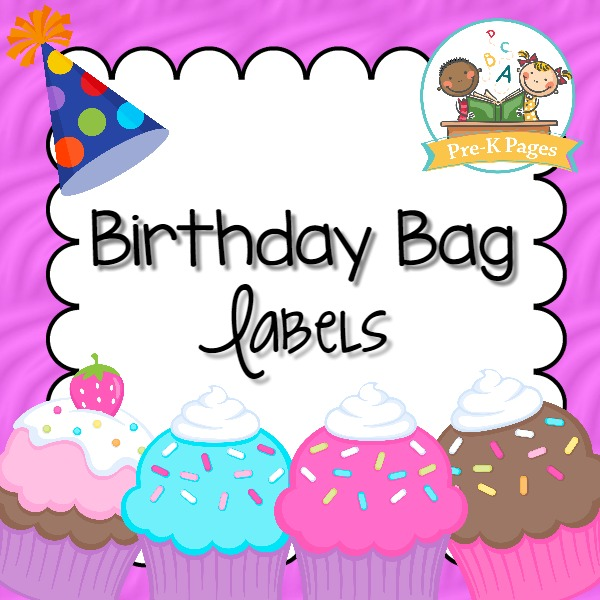 Birthday Bag Labels