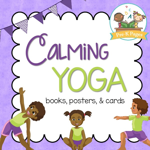graphic relating to Yoga Cards Printable called Yoga Preview - Pre-K Webpages