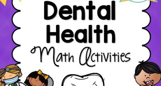 Dental Health Math Activities