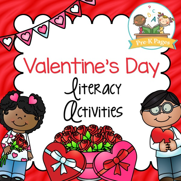 Valentines Day Literacy Activities for Preschoolers