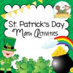 St Patricks Day Math Activities for Preschool