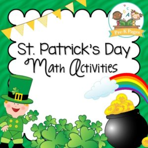 St. Patrick's Day Math Activities