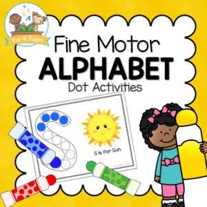 Alphabet Fine Motor Dot Pages