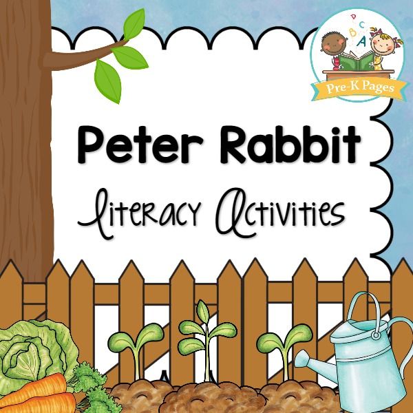 Peter Rabbit Literacy Activities for Preschool