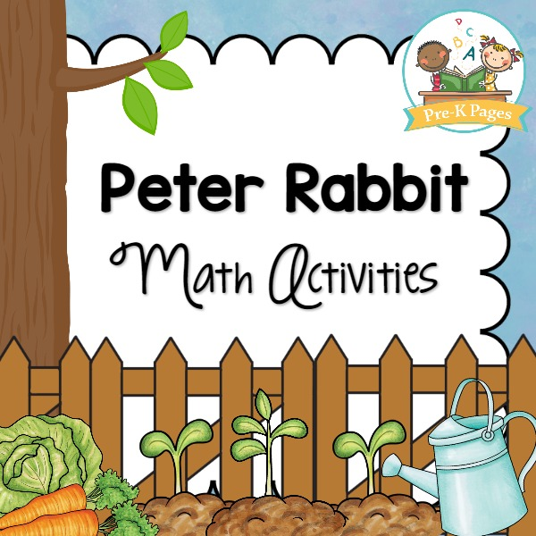Peter Rabbit Math Activities for Preschool