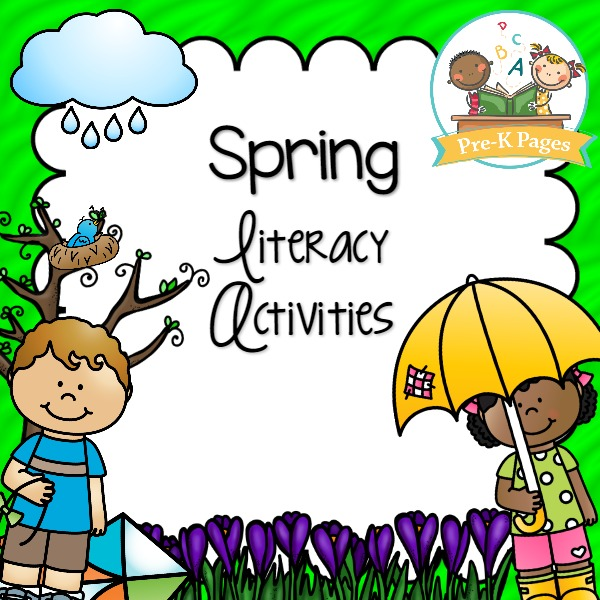 Spring Literacy Activity Printables