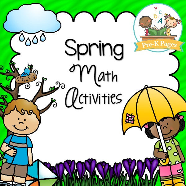 Spring Math Activity Printables