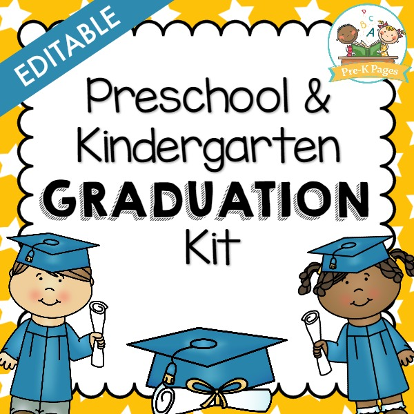 end of the school year activities pre k pages