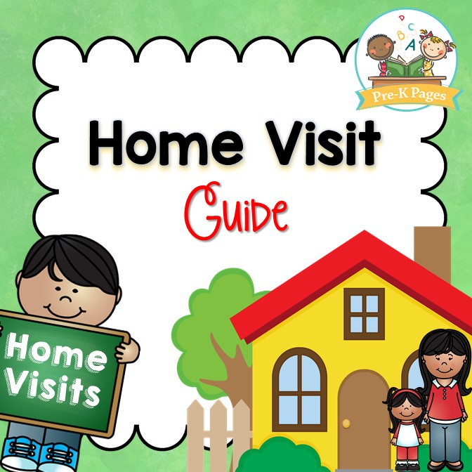 Printable Home Visit Guide for Preschool Pre-K or Kindergarten Teachers