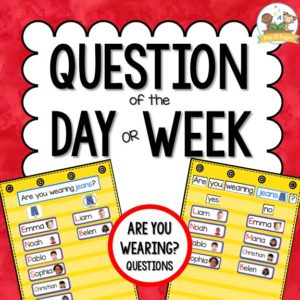 Question of the Day: Are You Wearing?