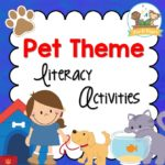 Pet Theme Literacy Activities for Preschool and Kindergarten