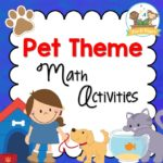 Pet theme math activities for preschool and kindergarten