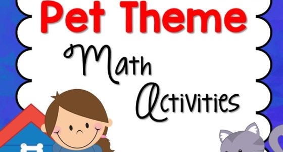 Pet Theme Math Activities