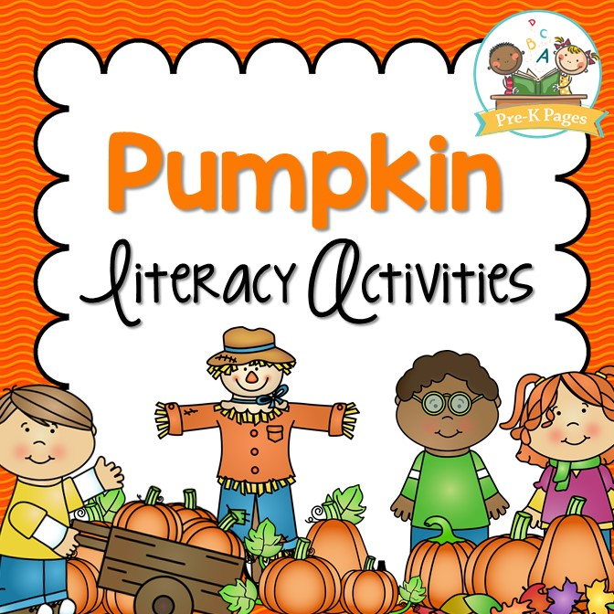 Pumpkin Literacy Activities for Preschool