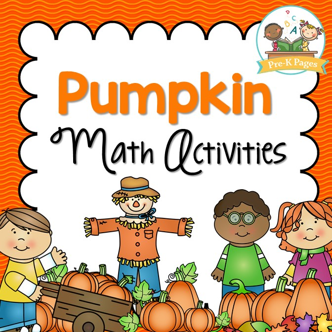 Pumpkin Math Activities for Preschool