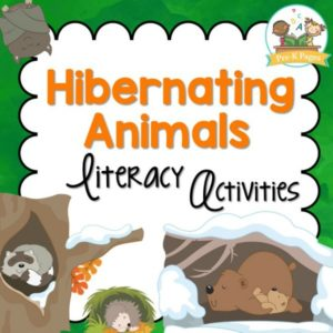 Hibernating Animals Literacy