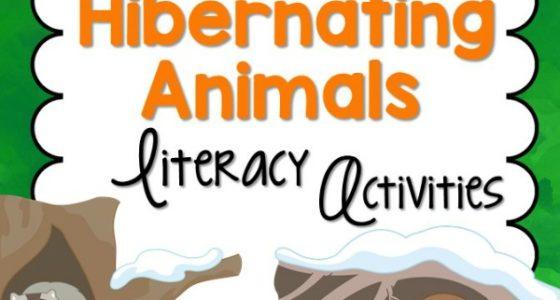 Hibernating Animals Literacy