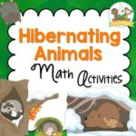 Hibernation Theme Math Activities for Preschool and Kindergarten