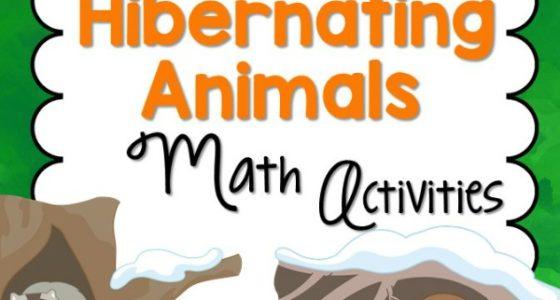 Hibernating Animals Math