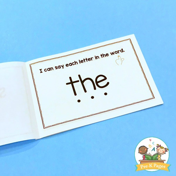 graphic regarding Sight Word Printable Books named Sight Term Publications Editable - Pre-K Webpages