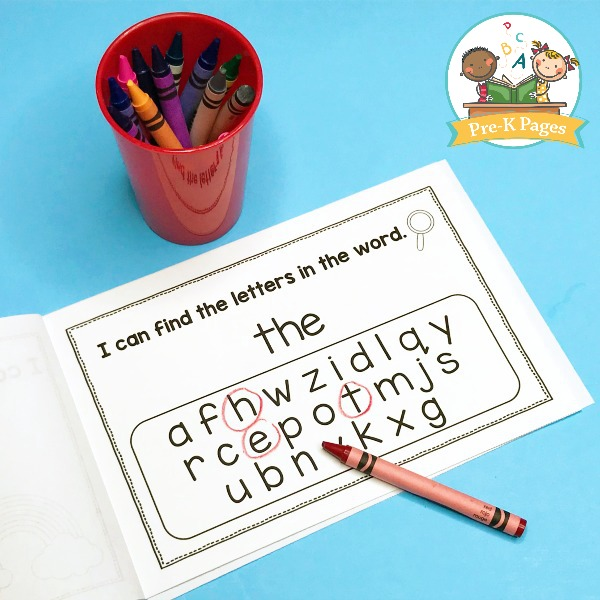 Printable Sight Word Search