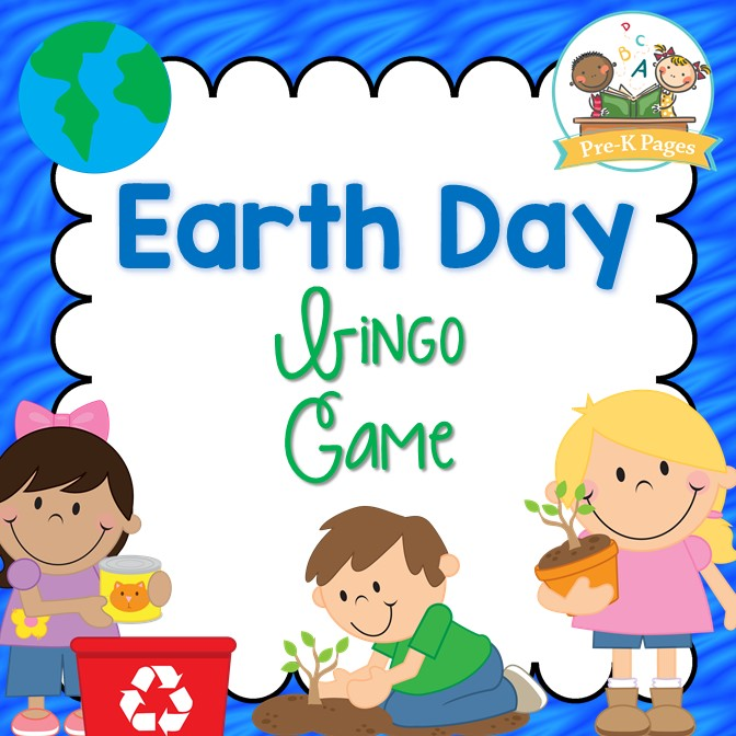 Printable Earth Day Bingo