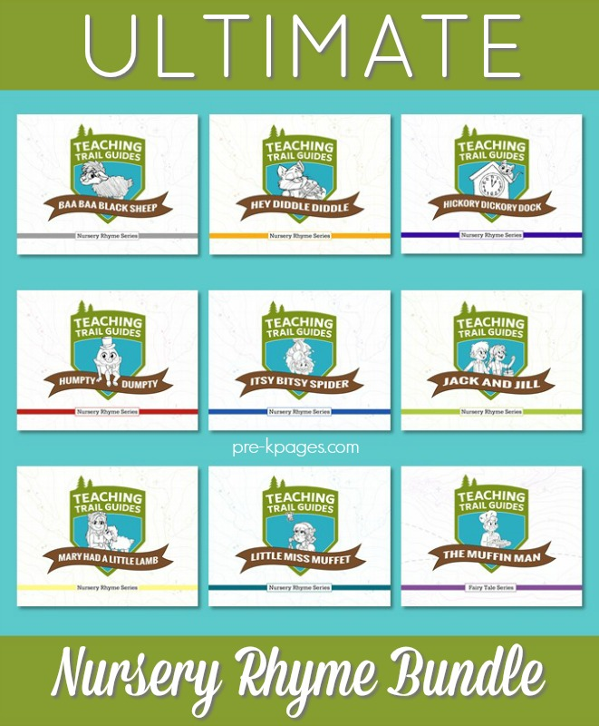 Nursery Rhyme Lesson Plans for Preschool