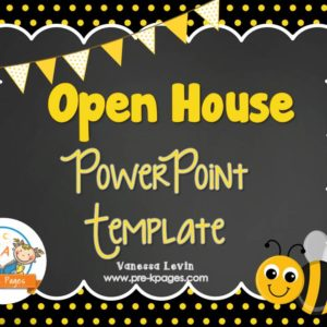 Bee Open House PowerPoint