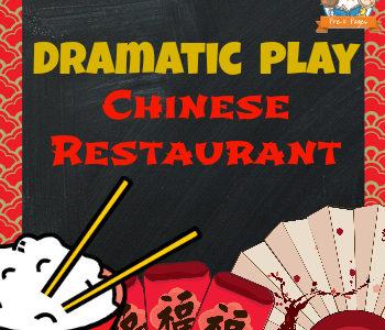 Dramatic Play Chinese Restaurant