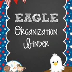Eagle Organization Binder