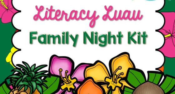 Literacy Luau Family Night Kit