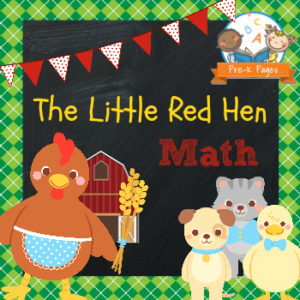Little Red Hen Math