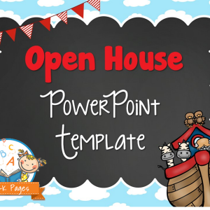 Noah's Ark Open House PowerPoint
