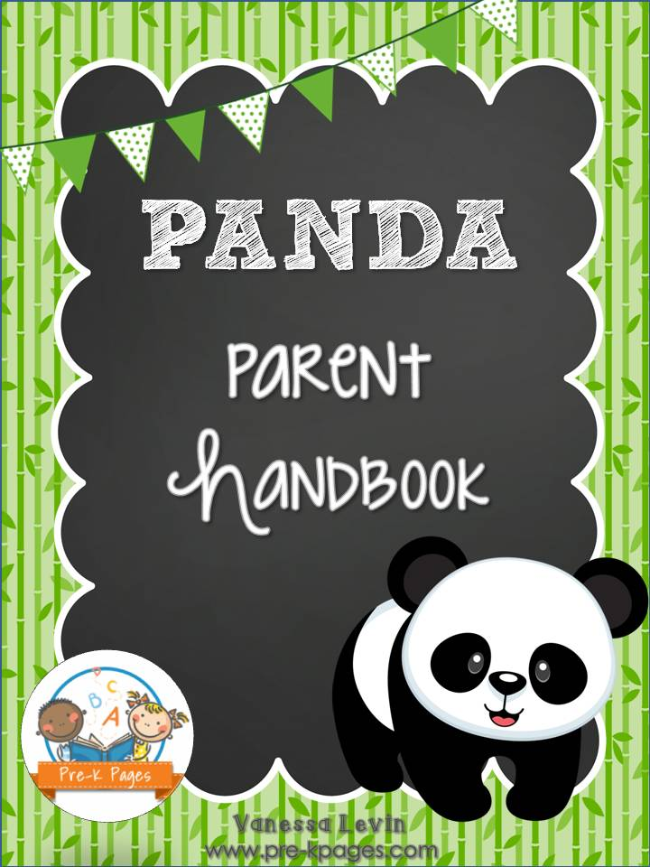 panda-handbook-cover-lg Ocean Theme Newsletter Template on classroom weekly, fun company, free office, microsoft word, free printable monthly,