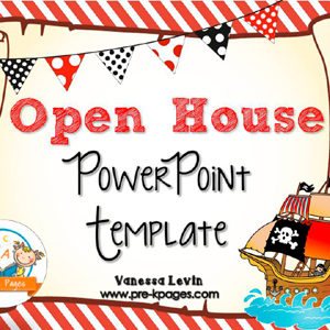 Pirate Open House PowerPoint