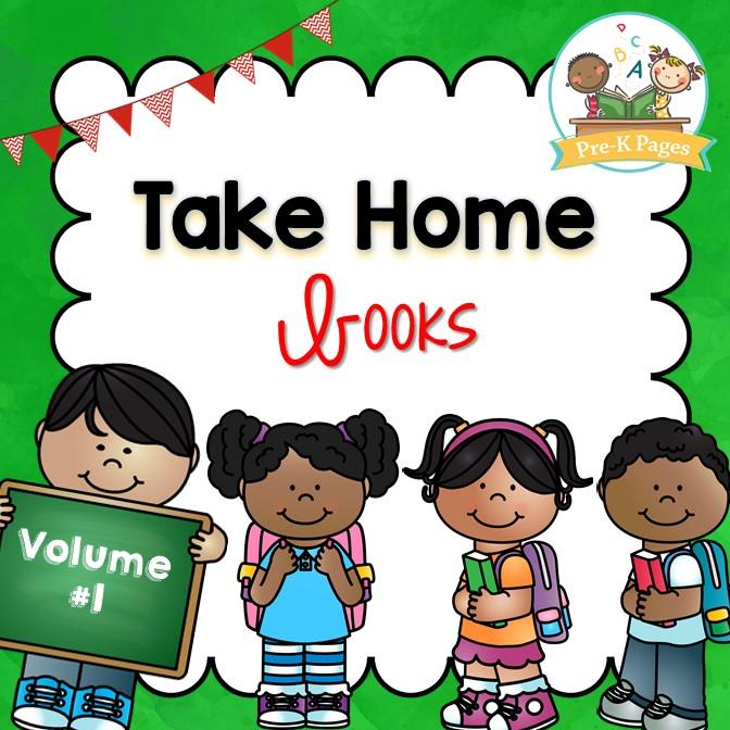 Take Home Book Program Vol 1 - Pre-K Pages