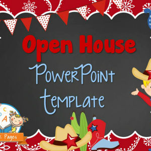 Western Theme Open House PowerPoint
