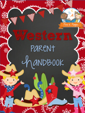 Western Theme Parent Handbook