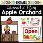 Apple Orchard Pretend Play Props